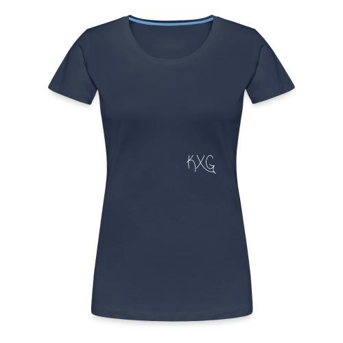 KXGlogo png - Vrouwen Premium T-shirt