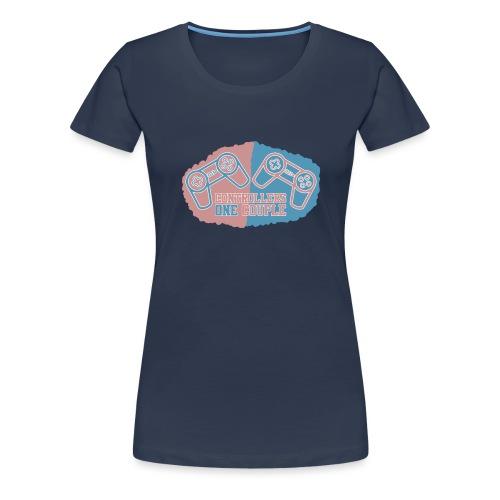 5/5s cover TwoControllersOneCouple - Dame premium T-shirt
