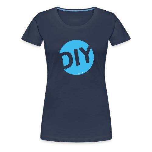 DIY Helden blau - Frauen Premium T-Shirt