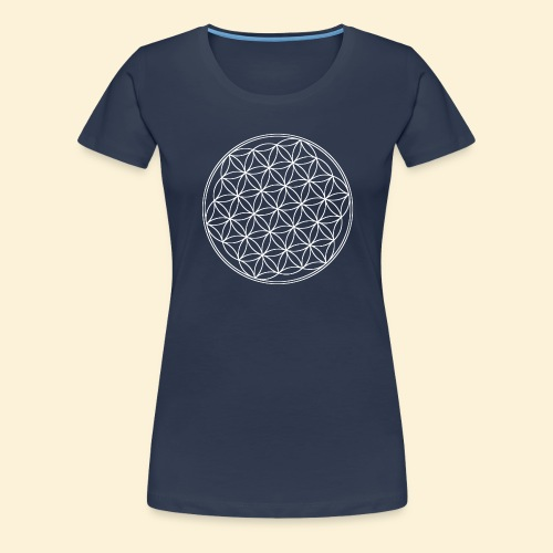 Lebensblume - Frauen Premium T-Shirt