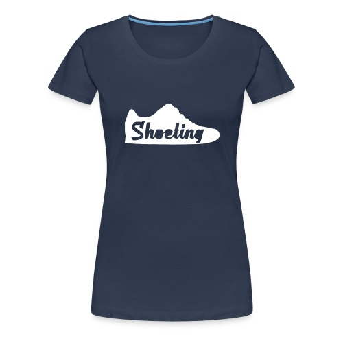 Shoeting Hoodie - Frauen Premium T-Shirt