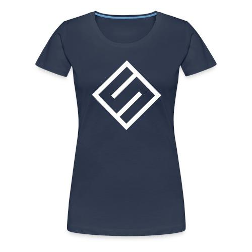 Svart Hettegenser - Premium T-skjorte for kvinner