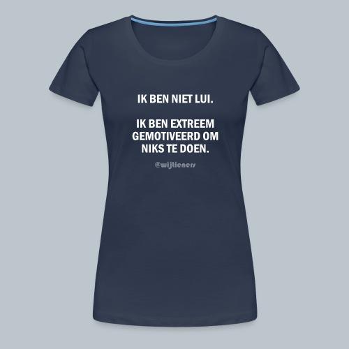 SHIRT 1 ~ Instagram @wijtieners - Vrouwen Premium T-shirt