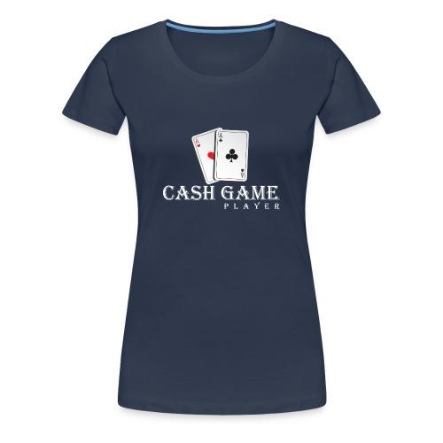 cashgameplayerDesign-2 - Frauen Premium T-Shirt
