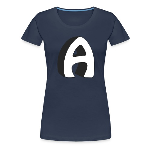 Alfa Kv | Basebal T-Shirt - Vrouwen Premium T-shirt