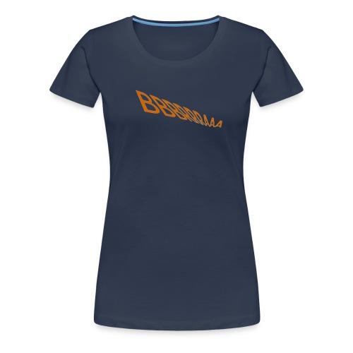 1 LOGO FÜR T SHIRT png - Frauen Premium T-Shirt