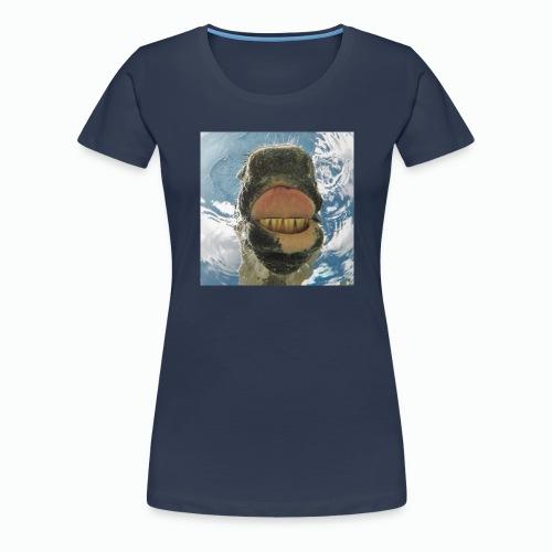 Drinking Horse / Drinkend Paard - Vrouwen Premium T-shirt