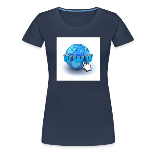 14821565-Internet-world-wide-web-concept-Earth-glo - Premium-T-shirt dam
