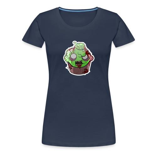 Cupake zombie couleur - T-shirt Premium Femme