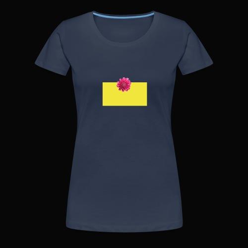 flower - Premium T-skjorte for kvinner