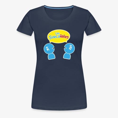 Los Suecañoles logo - Premium-T-shirt dam