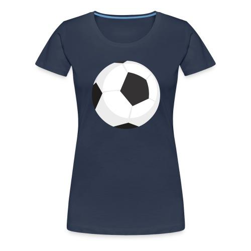 soccer ball - Maglietta Premium da donna