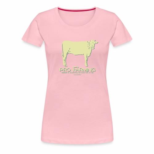 PRO Farming - Maglietta Premium da donna