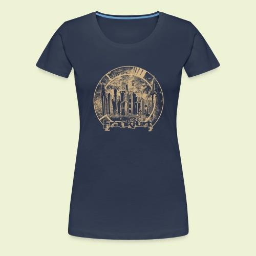 FFM Skyline R - Frauen Premium T-Shirt
