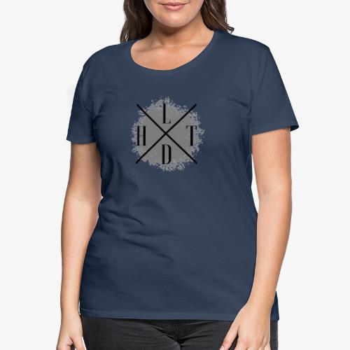 Hoamatlaund crossed - Frauen Premium T-Shirt