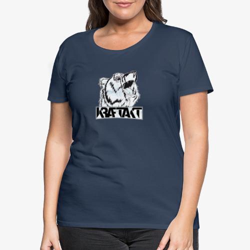 KRAFTAKT BEAR LOGO - Frauen Premium T-Shirt