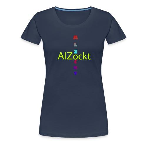 AlZockt Merch - Frauen Premium T-Shirt
