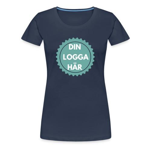Egen Logga - Premium-T-shirt dam