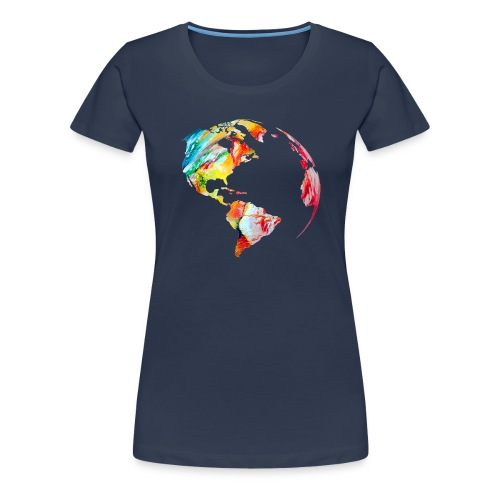 earth #2 - Frauen Premium T-Shirt