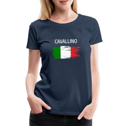 Cavallino Fanprodukte - Frauen Premium T-Shirt