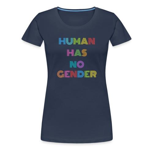 human has no gender - Women's Premium T-Shirt