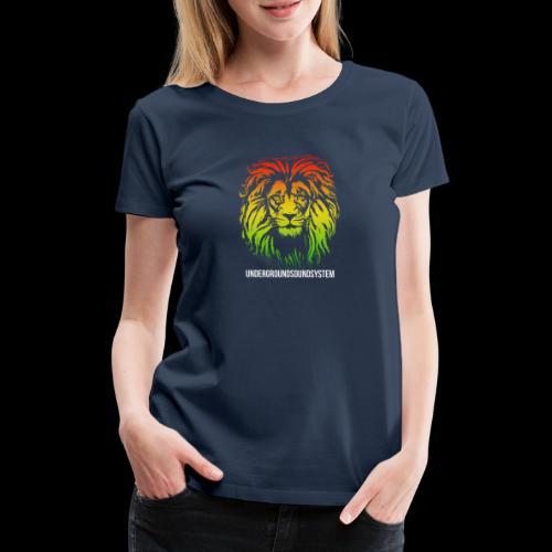 LION HEAD UNDERGROUNDSOUNDSYSTEM AUSTRIA - Frauen Premium T-Shirt