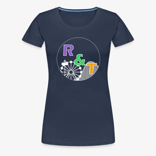 *Limited Edition* Robin & Thomas Merch Wit - Vrouwen Premium T-shirt