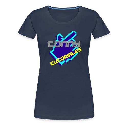 TonnyTutoriales logo png - Women's Premium T-Shirt