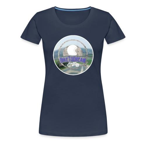 BikeToDream - T-shirt Premium Femme
