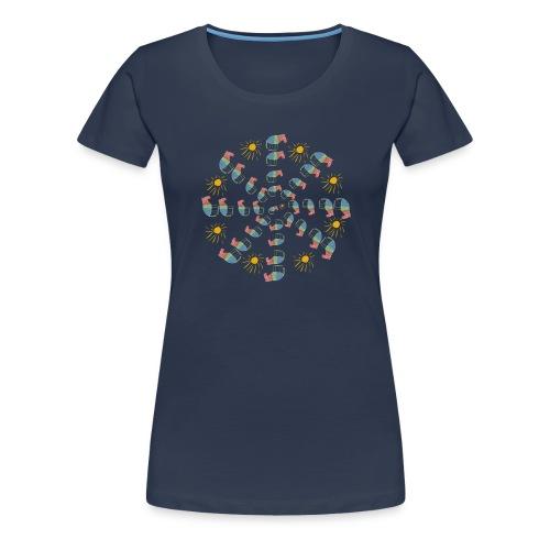 Lena Horse Circle - Frauen Premium T-Shirt