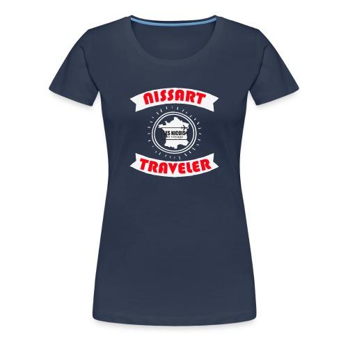 NISSART TRAVELER - T-shirt Premium Femme