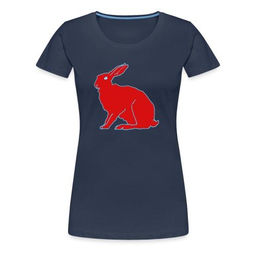 Roter Hase - Frauen Premium T-Shirt