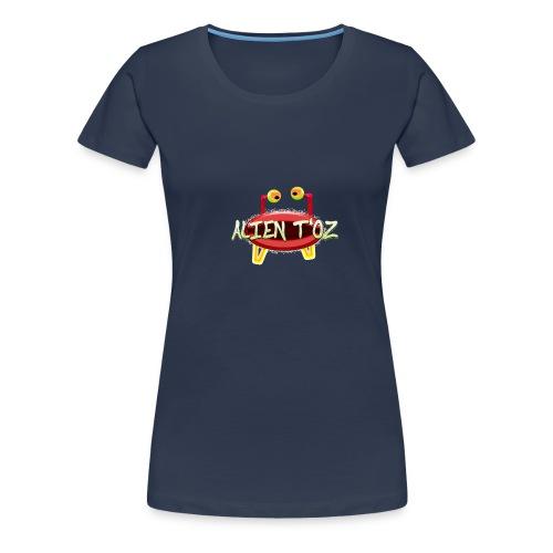 Alien T'oz - T-shirt Premium Femme