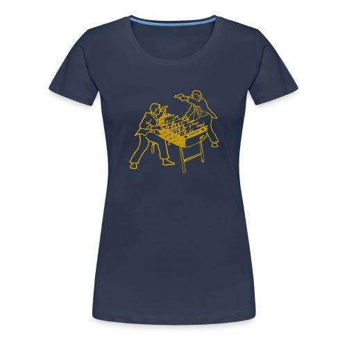 Serious Fussball - Women's Premium T-Shirt
