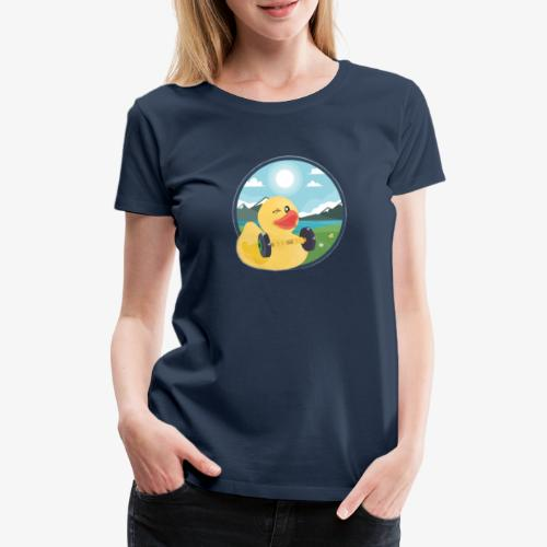 Adventure Ducks Sportsbag - Frauen Premium T-Shirt