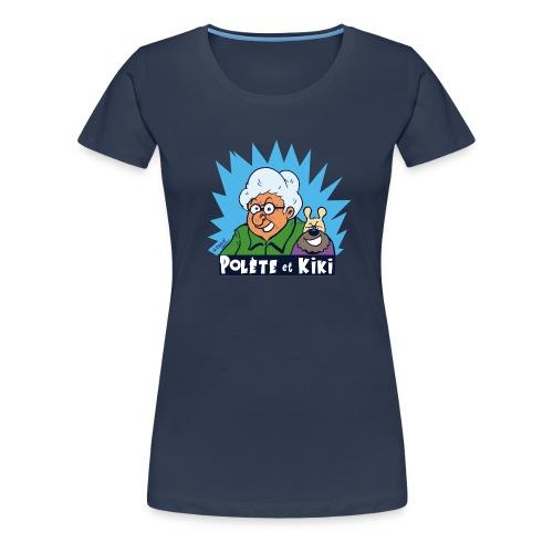 tshirt polete et kiki - T-shirt Premium Femme