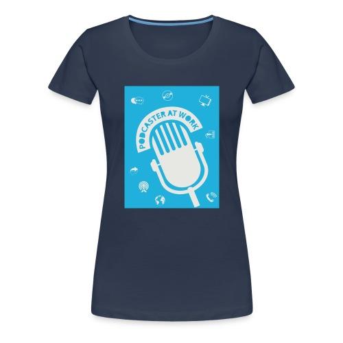 Coole Tasse für Podcaster - Frauen Premium T-Shirt