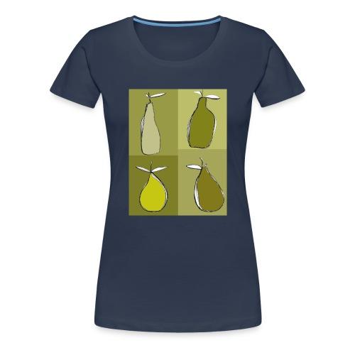 green pears - T-shirt Premium Femme