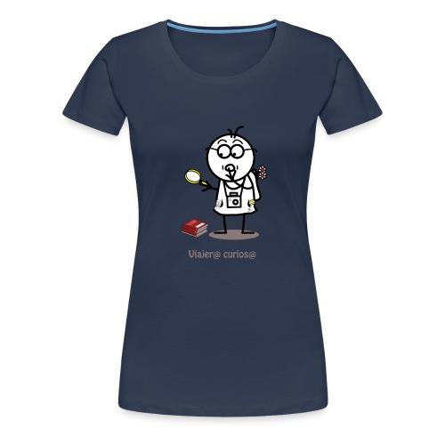 Viajero curioso - Camiseta premium mujer