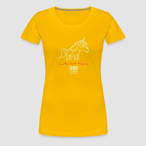 lurr unicorn - Women's Premium T-Shirt