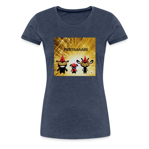 Fiestaaa - T-shirt Premium Femme