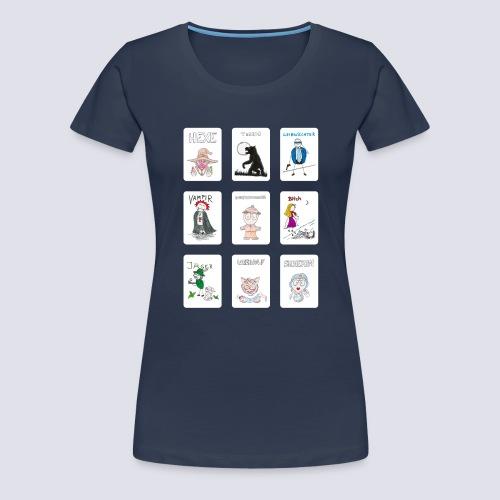 Standard Spielkarten - Frauen Premium T-Shirt