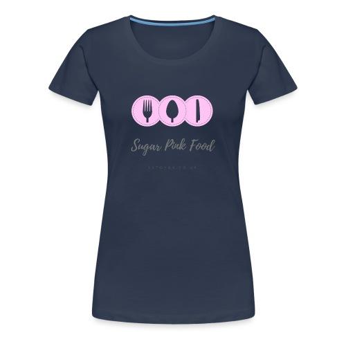 Sugar Pink Food - Women's Premium T-Shirt