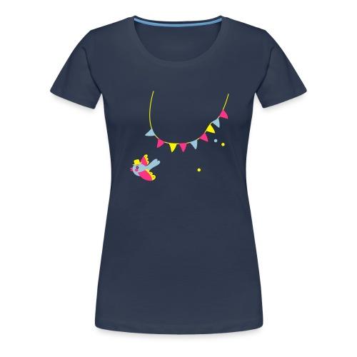 Spatz # Affentanz # bunt - Frauen Premium T-Shirt
