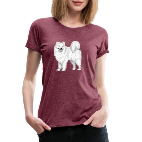 samoyed - Dame premium T-shirt