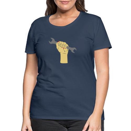 Schraubenschlüssel hoch! [vec] - Frauen Premium T-Shirt