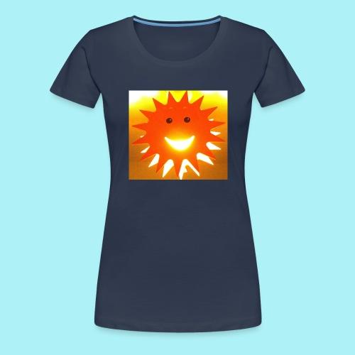 Soleil Souriant - T-shirt Premium Femme