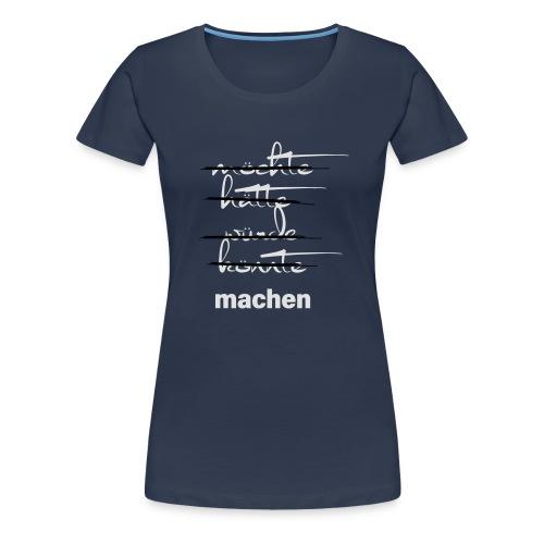 weichmacher - Frauen Premium T-Shirt
