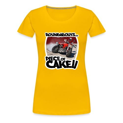 Ducati Monster Skidding - Camiseta premium mujer