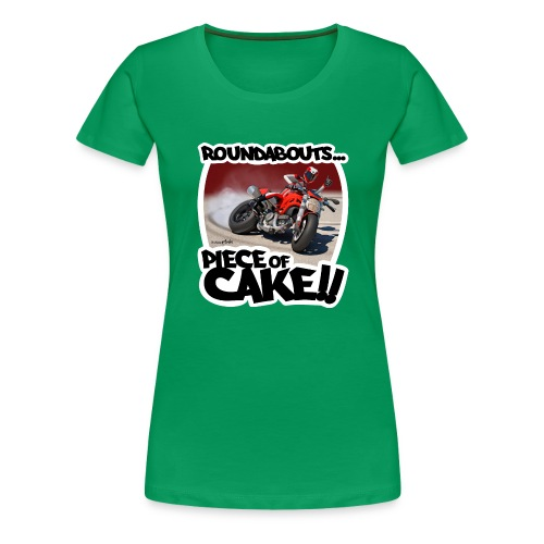 Ducati Monster Skidding - Camiseta premium mujer